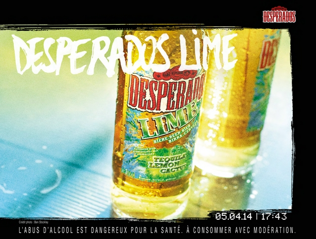 Une campagne Desperados zéro retouche!