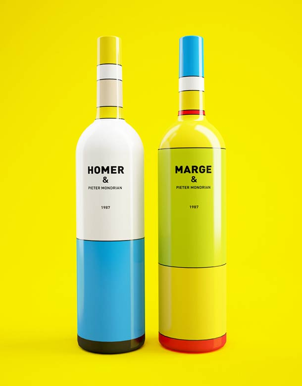 mondrian-simpsons-wine-bottles-3