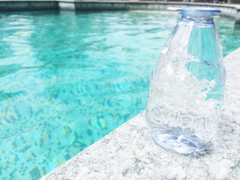 evian piscine