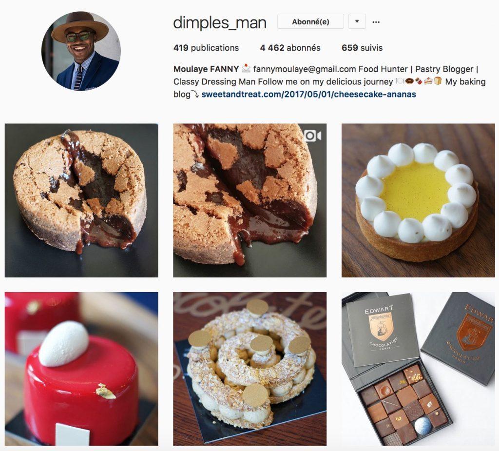@dimples_man : mi-blogueur, mi-pâtissier