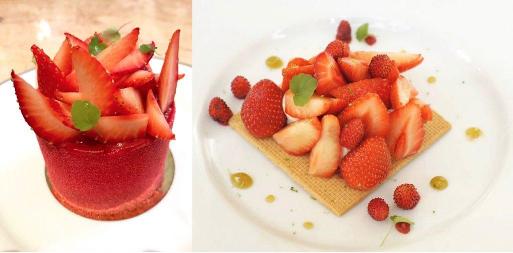 Crédit photo pour le sablé aux fraises ciflorettes : @dimples_man