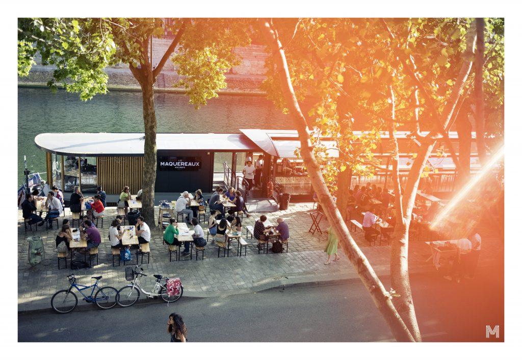 LES MAQUEREAUX - soirée de lancement Mangez Paris
