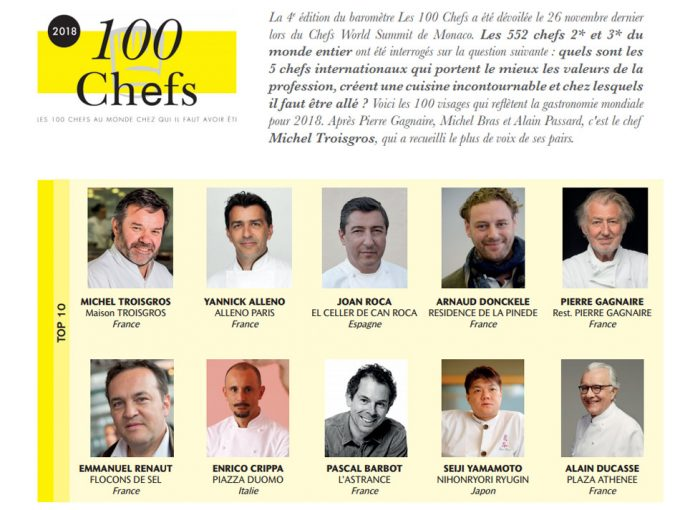 Les 100 Chefs au Chefs World Summit : verdict 2018
